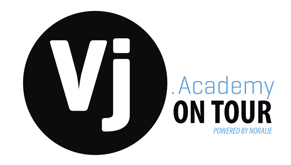 VjAcademy On Tour logo